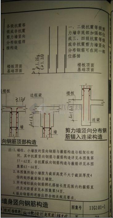 关于剪力墙和人防墙的钢筋布置的问题
