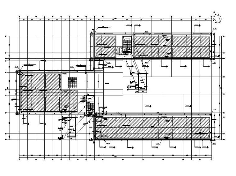 [浙江]五层长条形面砖外墙市级中学建筑施工图(含效果图)_7
