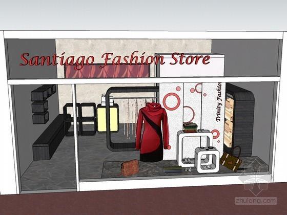 时装店SketchUp模型下载
