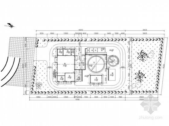 UCT工艺污水厂设计资料下载-[湖南]垃圾填埋厂渗滤液处理工艺施工图