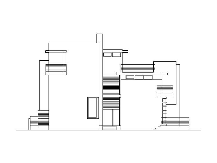 [上海]知名地产别墅区全套初步设计图纸