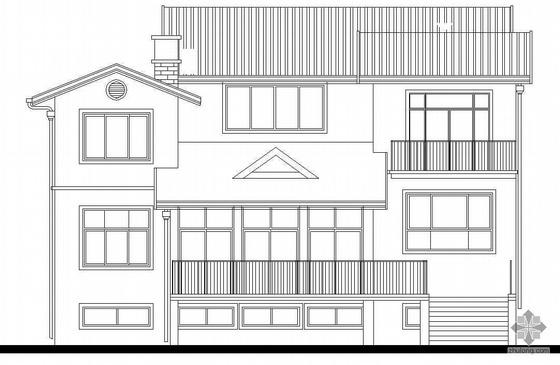 [济南]某二层别墅建筑施工图(二)