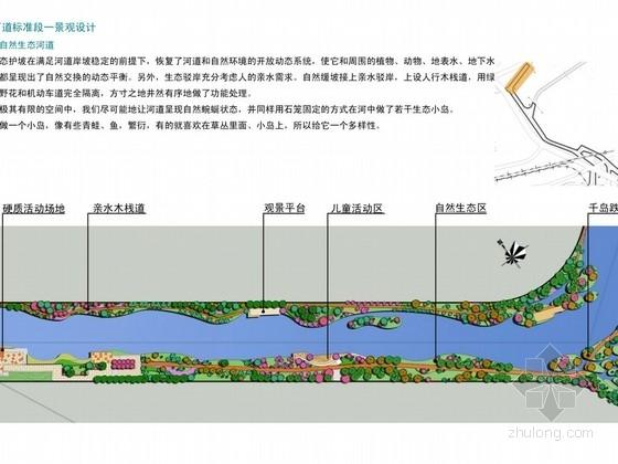[南京]河道景观生态工程设计方案