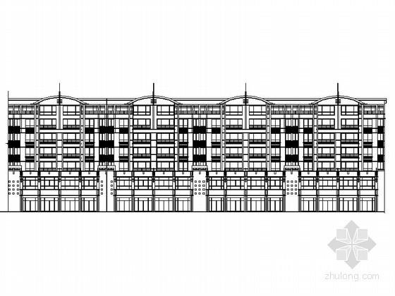 某七层沿街商住楼建筑施工图