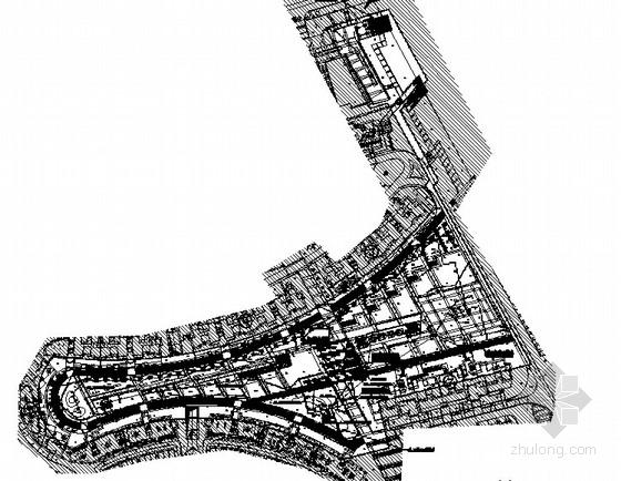 [上海]滨水居住区园林景观工程施工图
