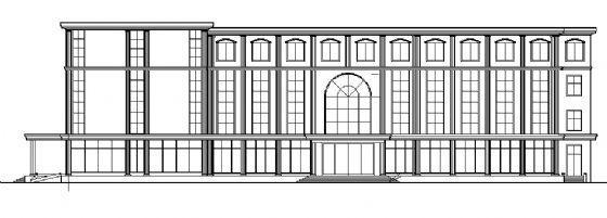 四层小型酒店建筑施工图