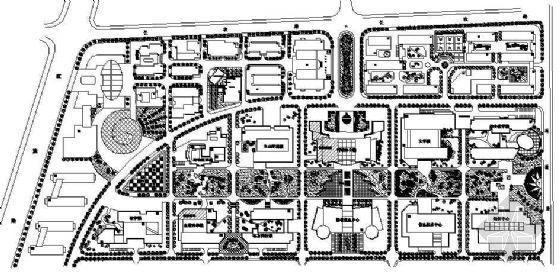 湖北农业大学第二教学区详细规划