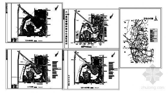 某大型工业园区详细规划图纸(CAD)