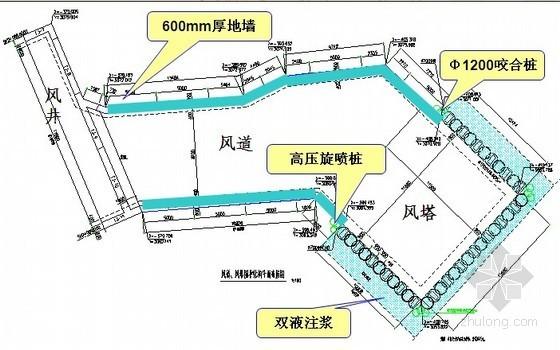 [上海]人民路隧道基坑围护硬法钻孔咬合桩施工技术