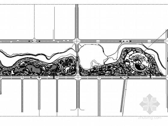 [抚州]湿地公园园林景观工程全套施工图