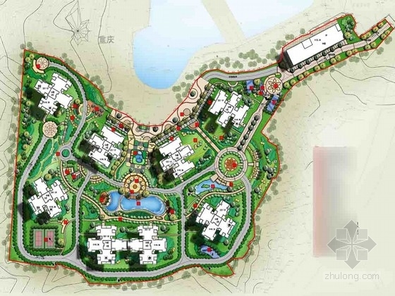 [重庆]自然生态居住区景观规划设计方案