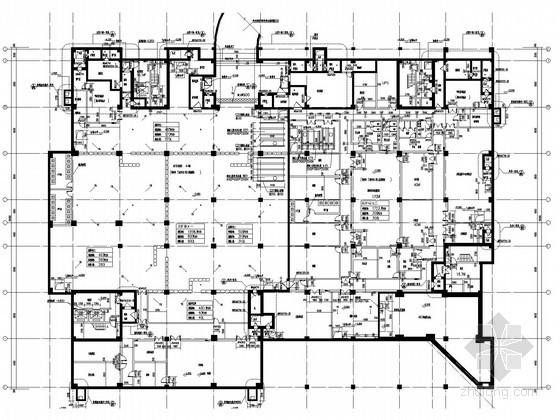 [北京]研究院科技综合楼人防系统设计施工图(大院出品)