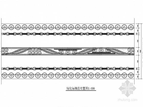 [广西]城市主干路绿化工程施工图设计22张