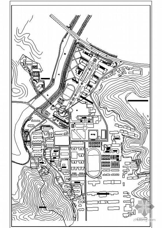 湖南某校园景观规划设计