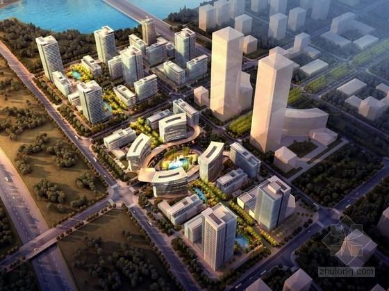 [福建]城市核心区软件园地块规划设计方案文本