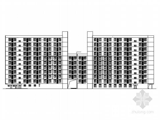 [安徽]现代风格新兴产业园区厂房设计建筑施工图(含多栋厂房)