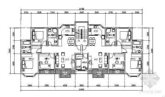 120-140平米多层住宅户型选集