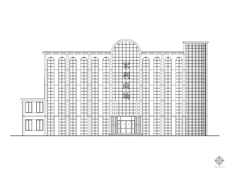 某五层商场毕业设计建筑结构施工图