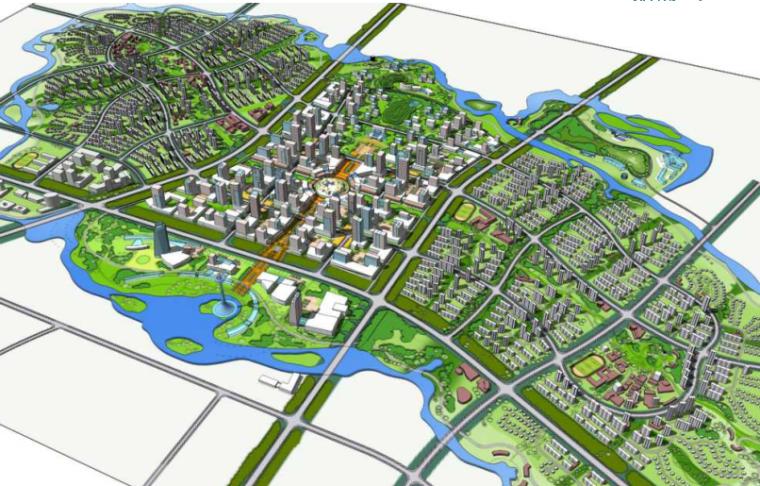 沈阳蒲河生态智慧城概念规划设计方案