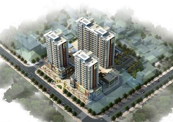 [广东]2018某城地块开发土方平整工程量清单实例(图纸)