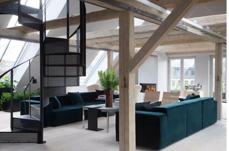 最美的北欧风Loft设计,纯粹、自然、极致!_2