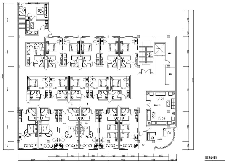 [福建]某大厦茶园宾馆设计装修施工图