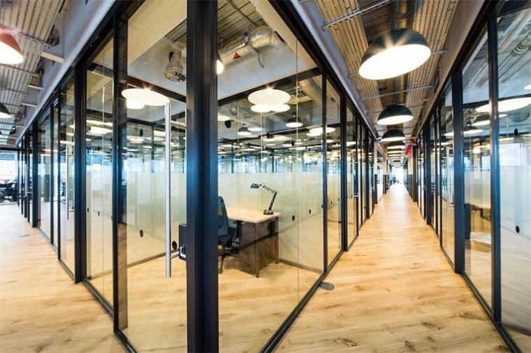 咖啡厅风格的联合办公空间-帕丁顿区WEWORK联合办公室室内实景图 (16)