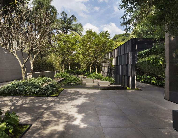 巴西入口庭院