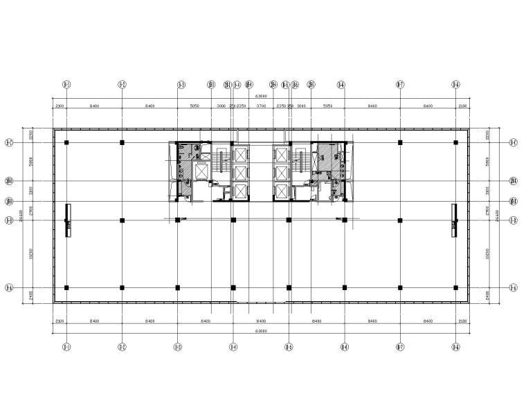 [浙江]现代--杭州英飞项目施工图+效果图