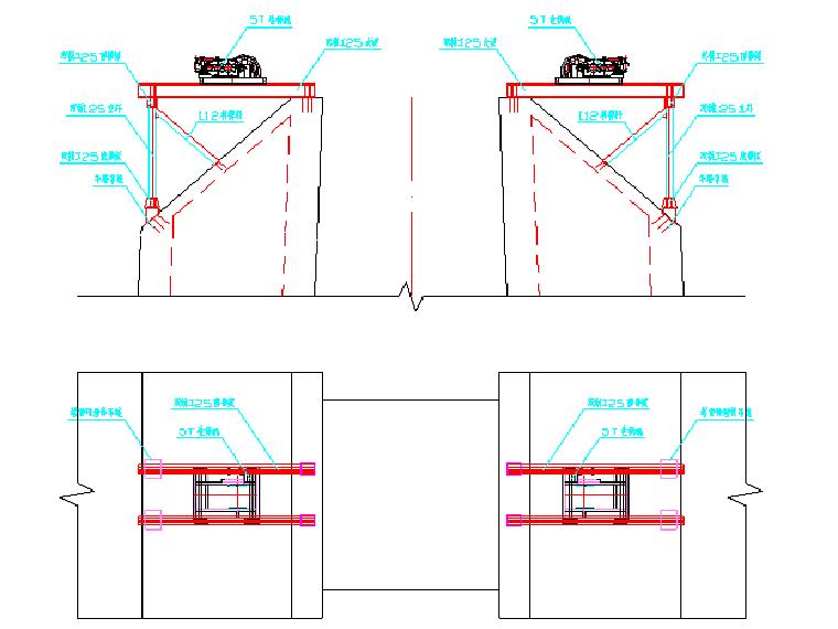 预应力混凝土半漂浮体系斜拉桥斜拉索施工方案