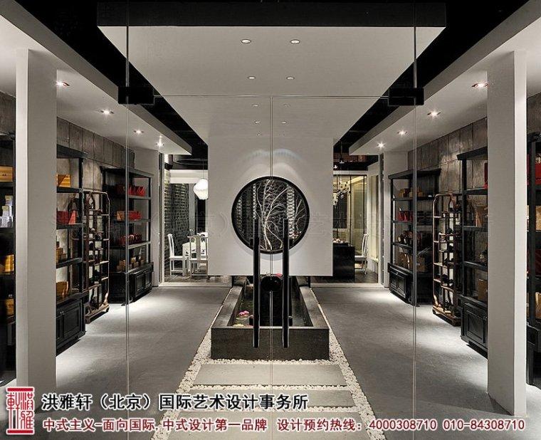 新中式茶楼装修设计,体现沁静优雅的人生乐趣_1