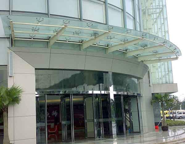 天津安装玻璃雨棚结构图