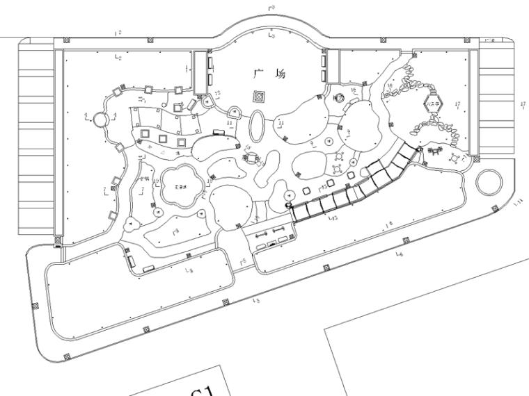 UA居住区景观设计资料下载-新中式百佳豪庭居住区景观设计施工图套图