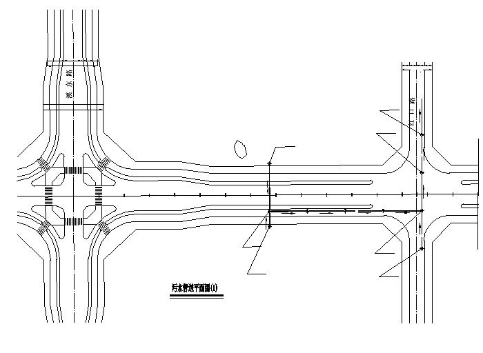 城市环路市政给排水施工图