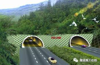 分离式独立双洞结构隧道施工_5