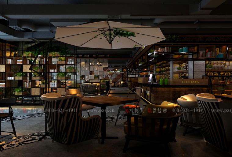 [沈阳餐厅设计公司]内蒙古比意格西餐厅项目设计效果图震撼来袭