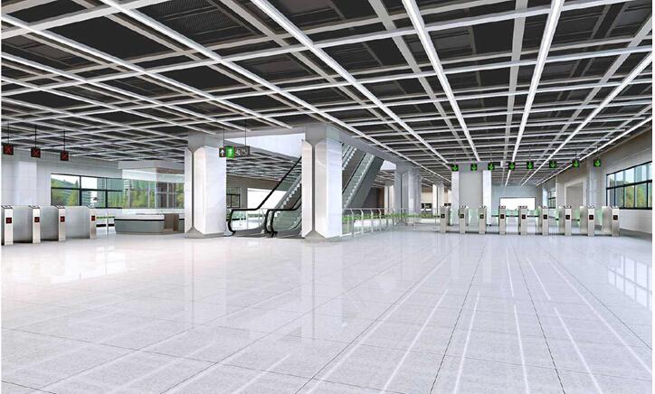 [贵阳]地铁装修项目策划书(平面图)