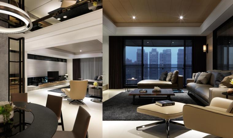西安绿地城160现代轻奢样板房概念设计丨PPT+PDF+JPG