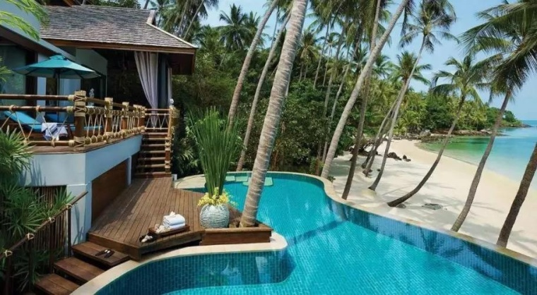 indigo酒店景观资料下载-异国风情奢华度假村之王BillBensley——如何做好酒店设计?