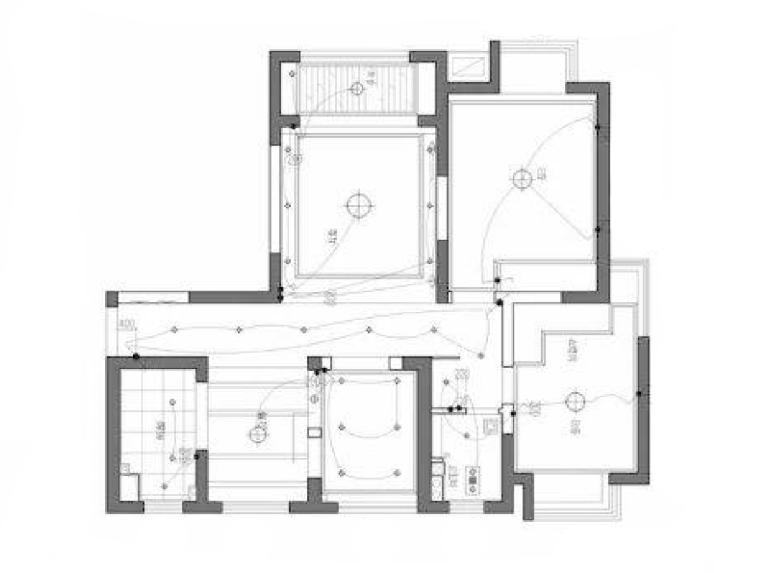 多层别墅平面图