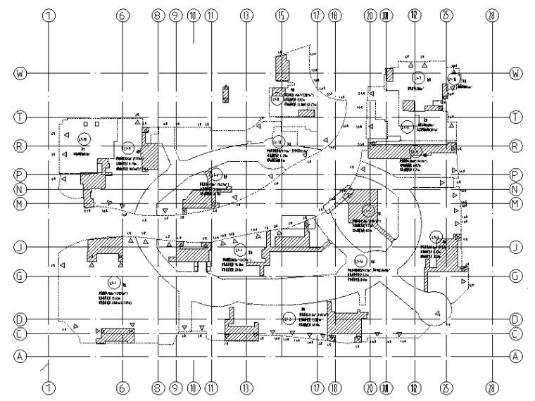 知名地产超高层综合楼电气全套施工图