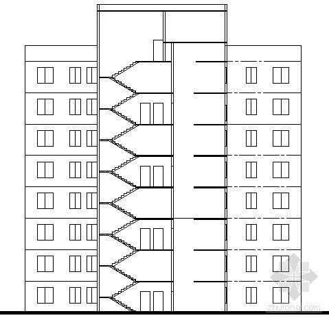 遵义市外环路沙河区修建性规划住宅楼方案图2