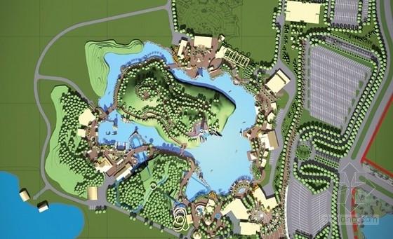 [珠海]海洋温泉旅游度假村主题游乐园景观扩初设计方案