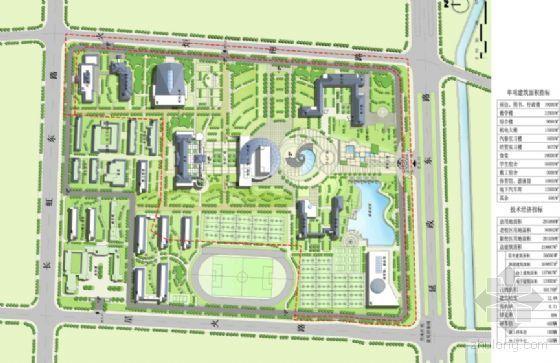 [常州市]某职教中心规划设计方案