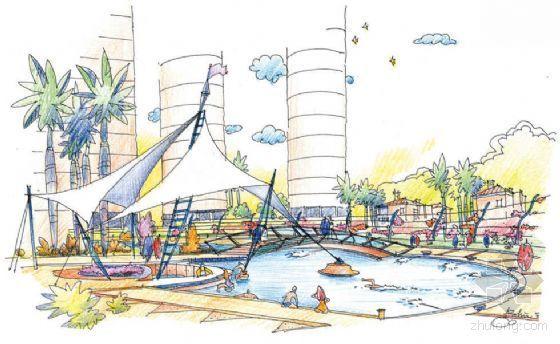 广东珠海某小区景观设计方案-3