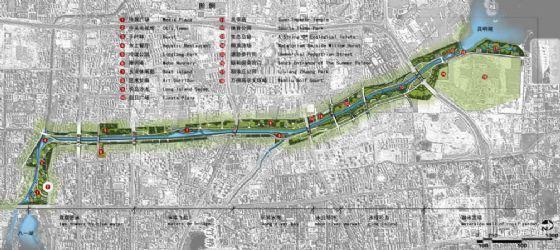 [北京]河道生态走廊景观规划设计方案
