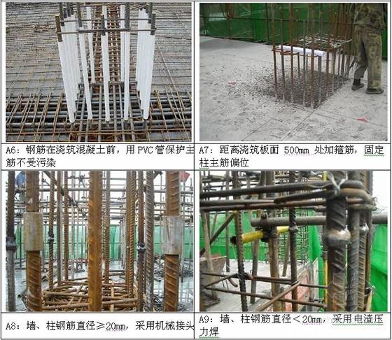 钢筋工程标准做法
