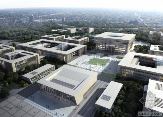 [江苏]多结构形式知名大学各种功能建筑群结构施工图
