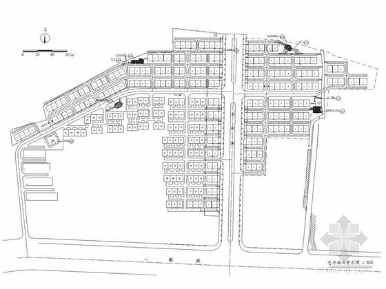 [宁夏]高档居住区二期建设绿化施工图