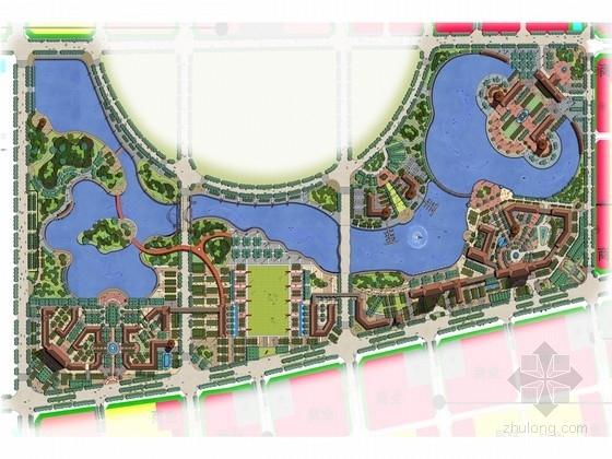 [河南]历史文化名城滨湖公园景观设计方案